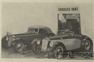 LAutomobile-sur-la-Côte-dazur-avril-1937-Georges-Irat-300x200 Georges Irat MDU 1937 Cyclecar / Grand-Sport / Bitza Divers Georges Irat