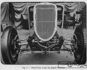 "Tracfort-4-300x240 Tracfort type B1 Sport "" Mouette "" 1934 Divers Voitures françaises avant-guerre"