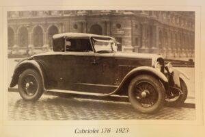 Peugeot-176-1926-cabriolet-Felber-après-restauration-Rétromobile-20183-300x200 Peugeot 176 Cabriolet Felber 1926 (2/2) Divers Voitures françaises avant-guerre
