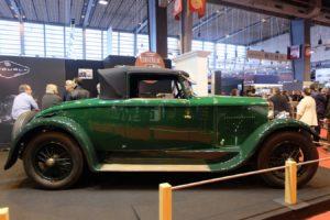 Peugeot-176-1926-cabriolet-Felber-après-restauration-Rétromobile-20185-300x200 Peugeot 176 Cabriolet Felber 1926 (2/2) Divers Voitures françaises avant-guerre