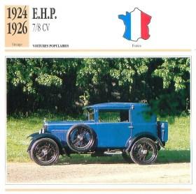 s-l1600-300x298 EHP Type B3 de 1922 Cyclecar / Grand-Sport / Bitza Divers Voitures françaises avant-guerre