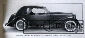 labourdette-delahaye-Salon-de-Paris-1938-300x136 Delahaye 135 1936 Coach Aerodynamique par Labourdette Voitures françaises avant-guerre