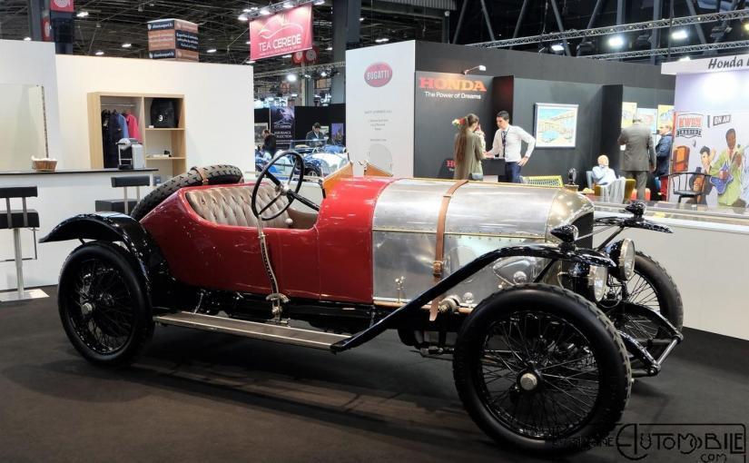 Bentley 3 Litres EXP2 de 1919