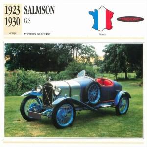 fiche-salmson-gs-1-300x300 Salmson GS (Grand Sport) 1924 Henri Labourdette Cyclecar / Grand-Sport / Bitza Divers Voitures françaises avant-guerre