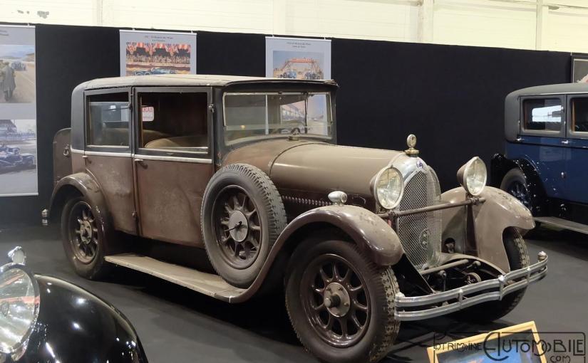 Lorraine Dietrich B3-6 Berline Weymann de 1926