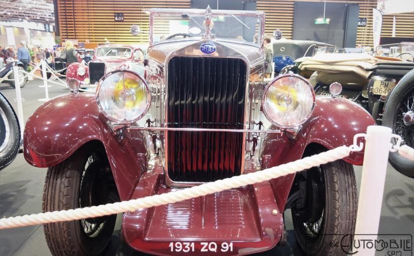 """Delage DS 14 Cv Cabriolet """"usine"""" 1931"""