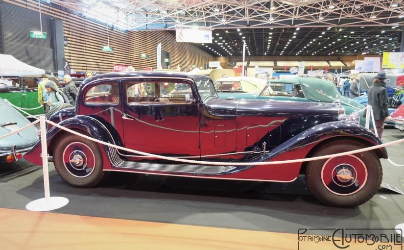"""DELAGE D8 """"S"""" Berline 2 Portes de 1934"""