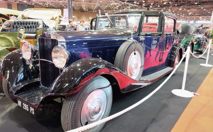 """Delage D8 """"Coupé-Landaulet"""" 1934"""