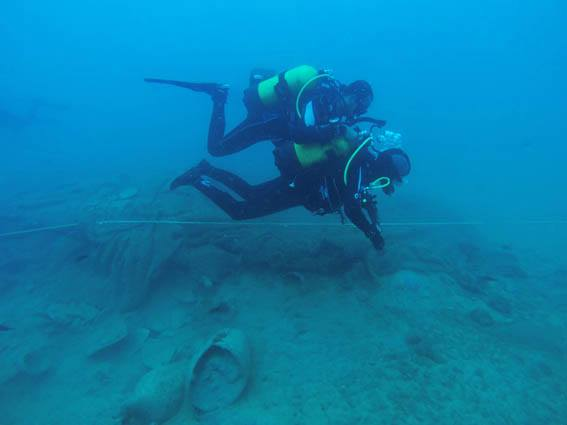 La Vila y Dénia, capitales de la arqueología subacuática