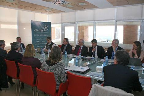 El Patronato de la Fundación CEIMar se reúne en Cádiz para aprobar el plan de actuaciones del Campus en 2016