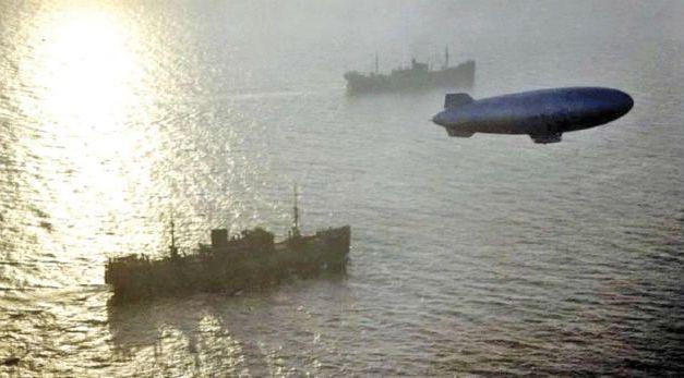 El submarino de Cíes que derribó un zepelín