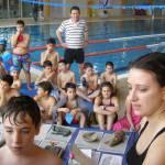Escolares de Tarazona recuperan los restos de un antiguo navío en una actividad de arqueología subacuática