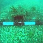 Localizan un cepo de ancla romano frente a la costa de Cullera