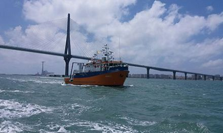 El UCADIZ, primer buque oceanográfico andaluz