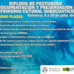 """DIPLOMA DE POSTGRADO """"LA DOCUMENTACIÓN Y PRESERVACIÓN DEL PATRIMONIO CUTURAL SUBACUÁTICO"""""""