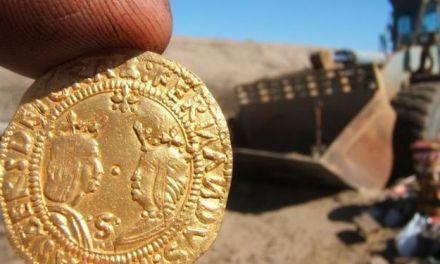 Sensacional hallazgo ¡en Namibia! de un tesoro con oro español y portugués
