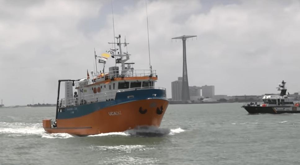 """Ucádiz, el barco del Ceimar, ante su """"misión cero"""""""