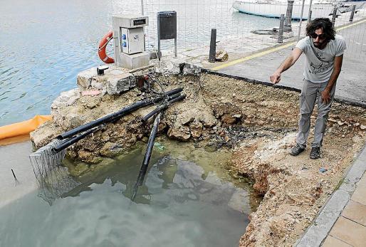 Las obras del puerto interior de Ciutadella sacan a la luz 4.000 restos arqueológicos