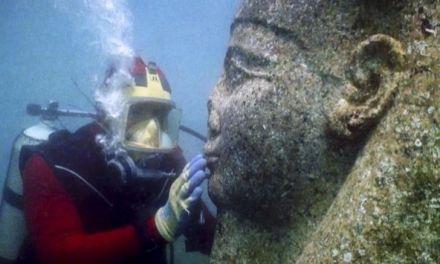 Tesoros extraídos de ciudades submarinas resucitan el Mito de Osiris