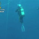 La Guardia Civil recupera parte de un ancla romana en la reserva marina de Llevant