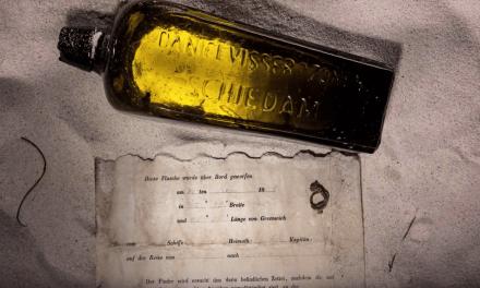 Una familia encuentra un mensaje del siglo XIX dentro de una botella