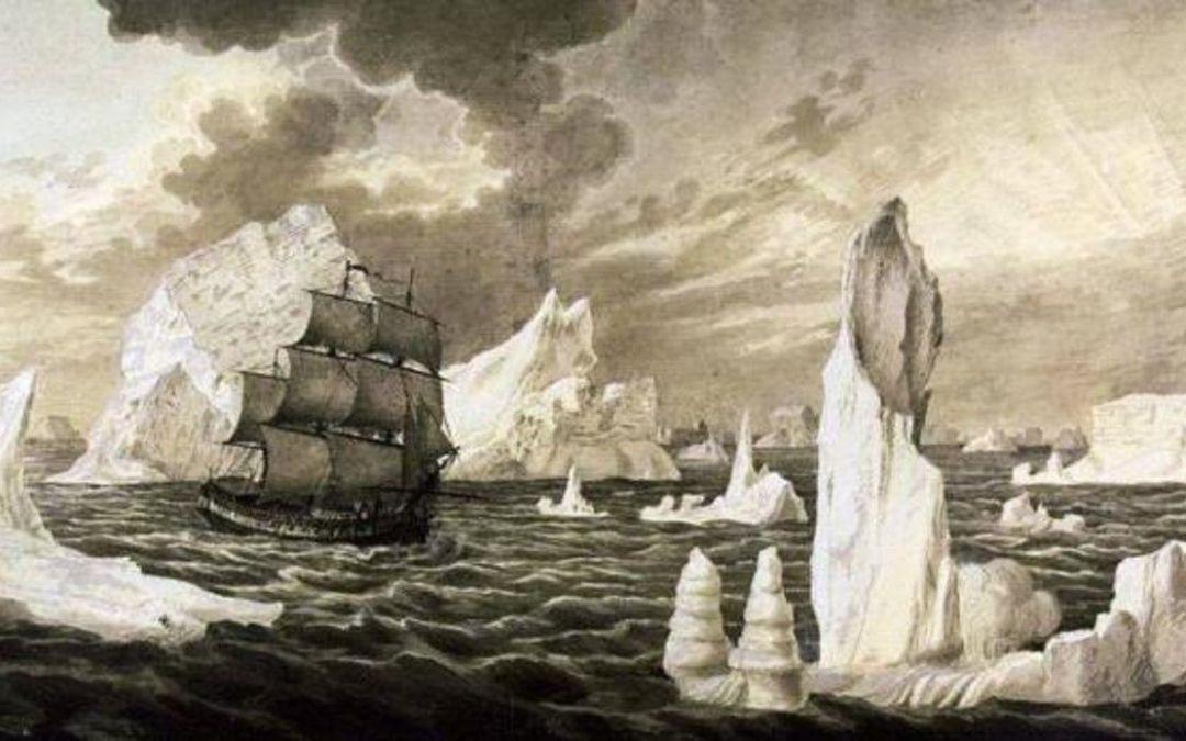 Una expedición pretende zarpar de Cádiz para recuperar los restos del 'San Telmo' en la Antártida