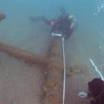 El temporal 'Gloria' pone al descubierto un barco del siglo I a.C hundido en el Baix Empordà
