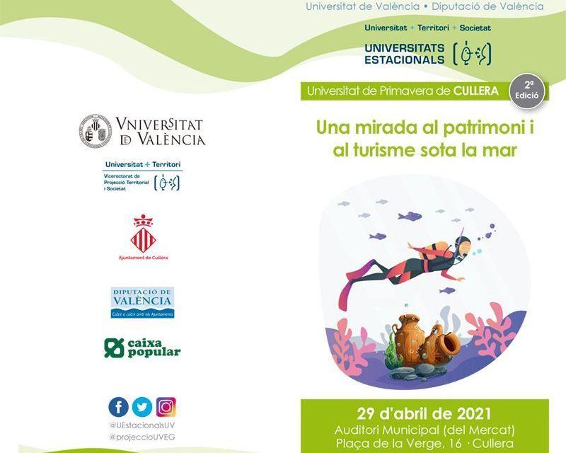2a Universitat de Primavera de Cullera 2021- Una mirada al Patrimonio y al Turismo bajo el mar