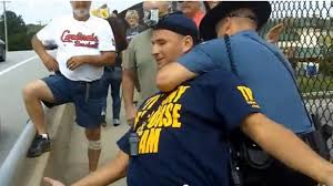 Arrest of Protesters in St. Charles, Missouri