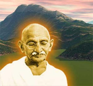 Mahatma Gandhi Klayman's Role Model