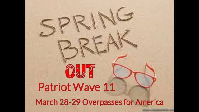 Patriot Wave 11 Announced for March 28-29, 2014