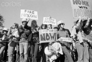 Impeach Nixon Now Demo of the 1970's