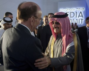 Fox News owners, Rupert Murdock and Saudi Prince, Alwaleed bin Talal.