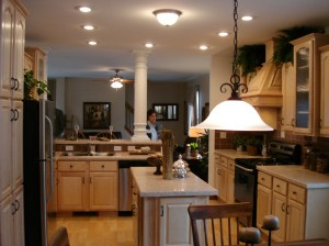 kitchen davenport ii designs ranch plans floor behind pennwest sample prospective nook being table modular patriot sales
