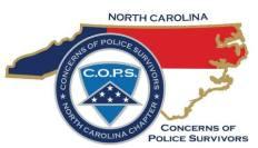 Concerns Of Police Survivors North Carolina Logo