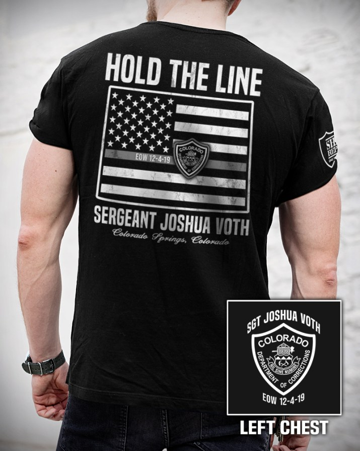 Sgt. Joshua Voth Fundraiser Hold The Line