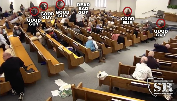 good guy with gun church of christ shooting