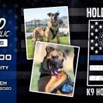 Fallen K9 Officer Hondo Harriman Police Salt Lake City