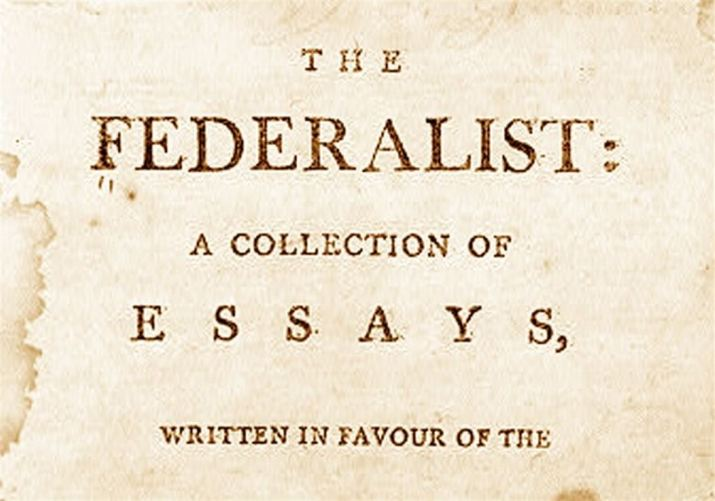 The Federalist Papers Essays