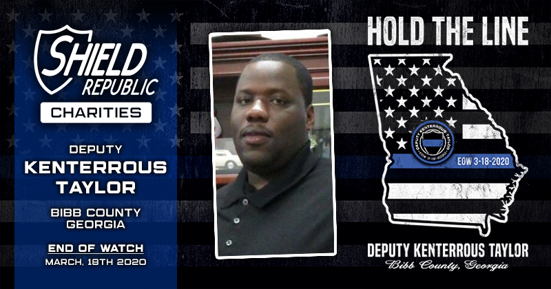 Kenterrous Taylor Hold the line fundraiser by Shield Republic