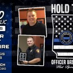 Officer Scrimshire Hold The Line Fundraiser Shield Republic Charities