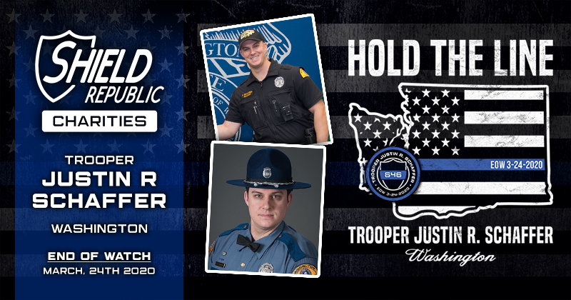 Fundraiser pays tribute to fallen Washington State Patrol Trooper