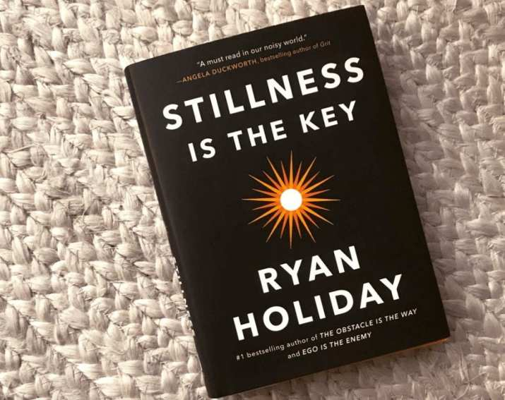 Stillness is the Key book cover