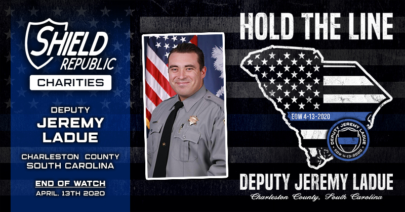 Deputy Sheriff Jeremy Ladue Fundraiser Hold the Line