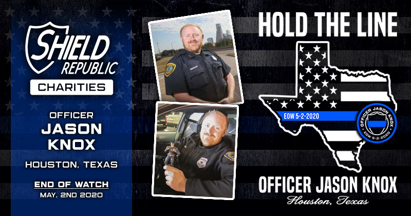 Officer Jason Knox tee shirt fundraiser
