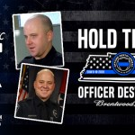 Officer Destin Legieza Brentwood Police Shield Republic Foundation donation charity fundraiser
