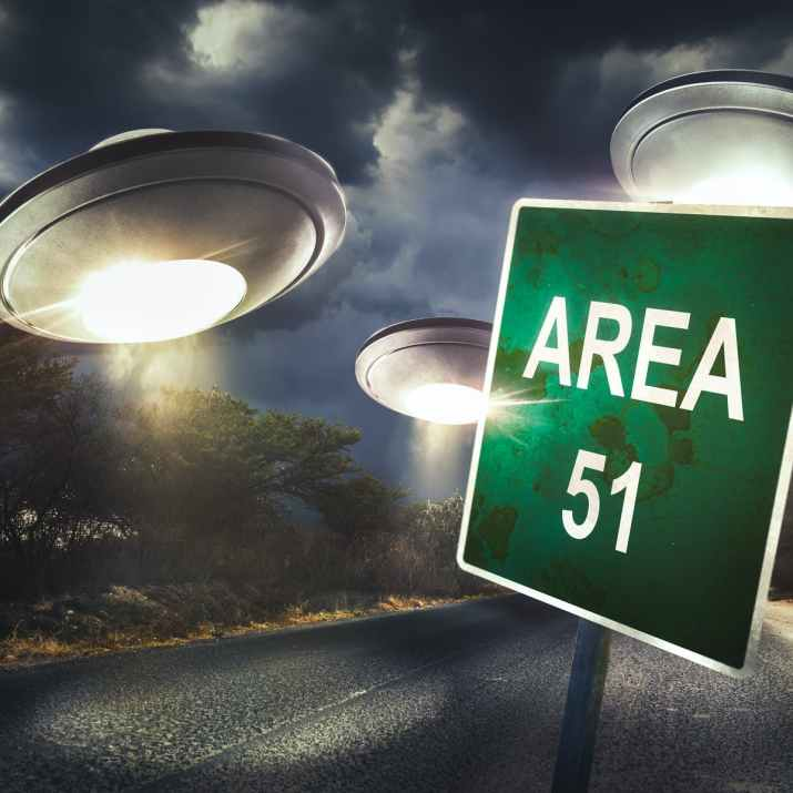 Area 51 fake picture