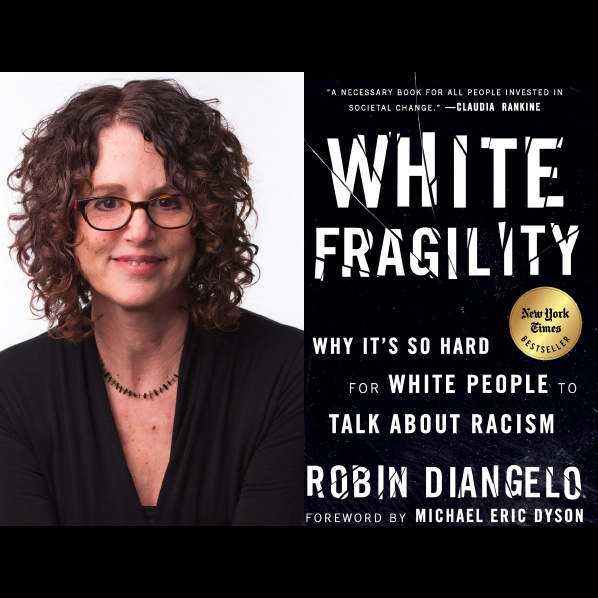 Book Cover and Author Robin DiAngelo