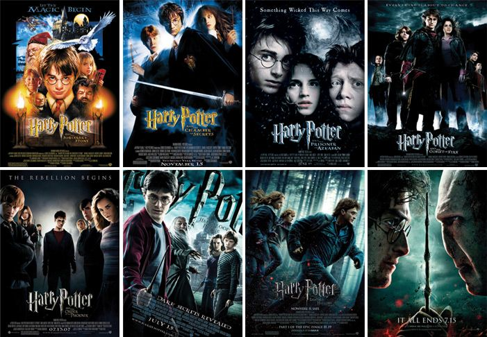 All 8 Harry Potter Movies