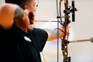 U.S._Army_Staff_Sgt._Robert_Price_warms_up_May_12,_2010,_at_the_Olympic_training_center_in_Colorado_Springs,_Colo.,_before_competing_in_the_compound_bow_category_100512-F-KR851-001